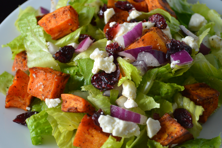 Autumn Sweet Potato Salad