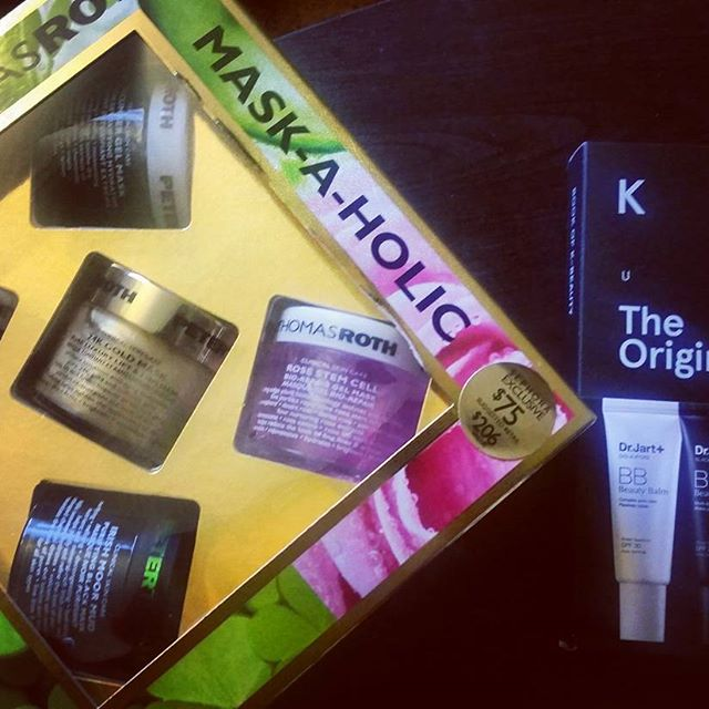Treat yo self #peterthomasroth #sephora #maskaholic #bbcream #drjart #treatyoself