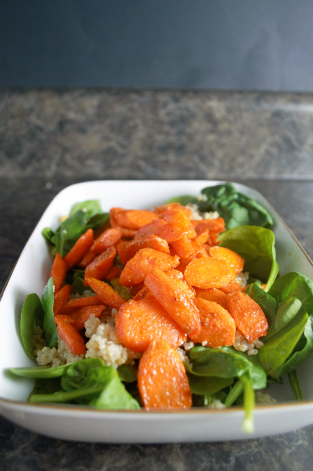 carrot quinoa salad 4